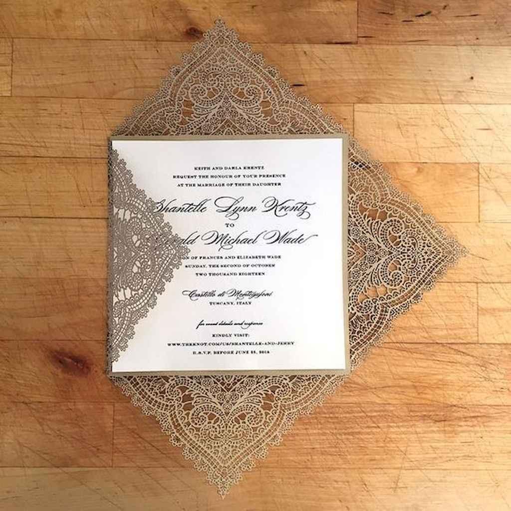 09 Elegant Christmas Wedding Invitations Ideas