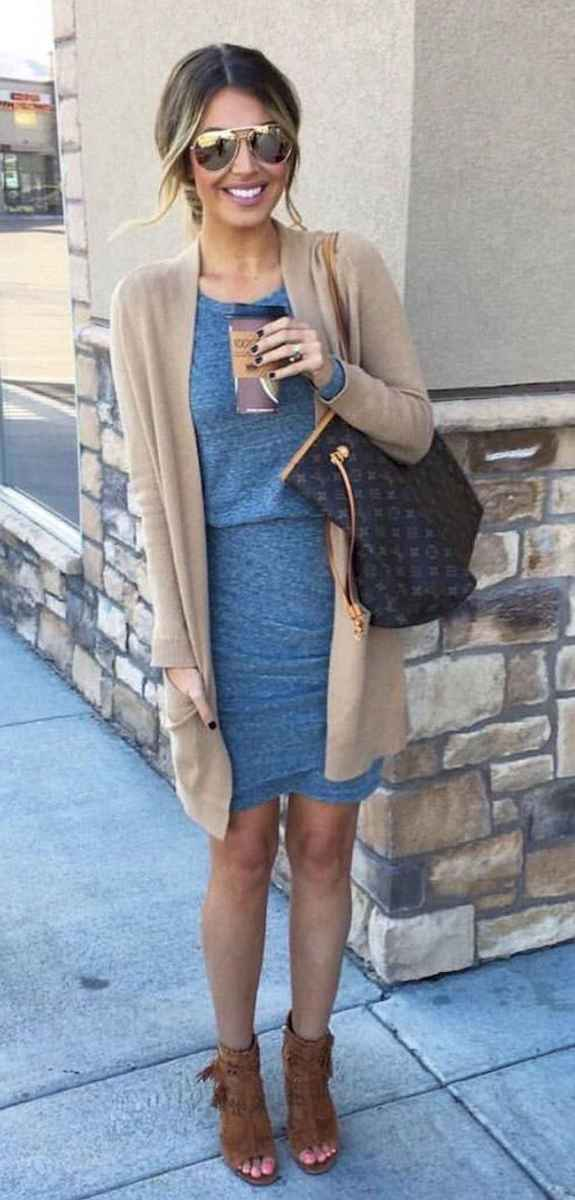 09 Trendy Business Casual Dress for Ladies