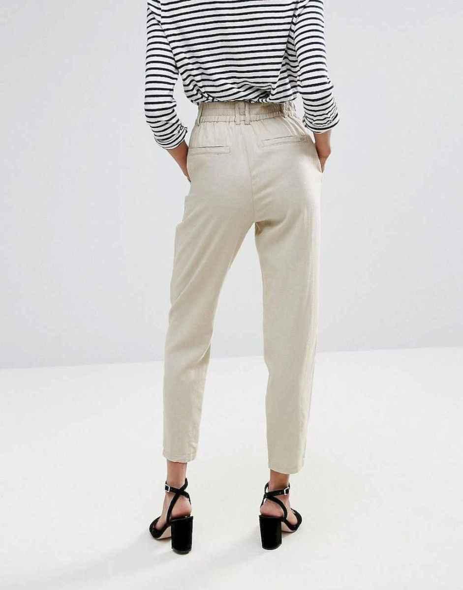 10 Elegant Beige Linen Pants Outfit Ideas