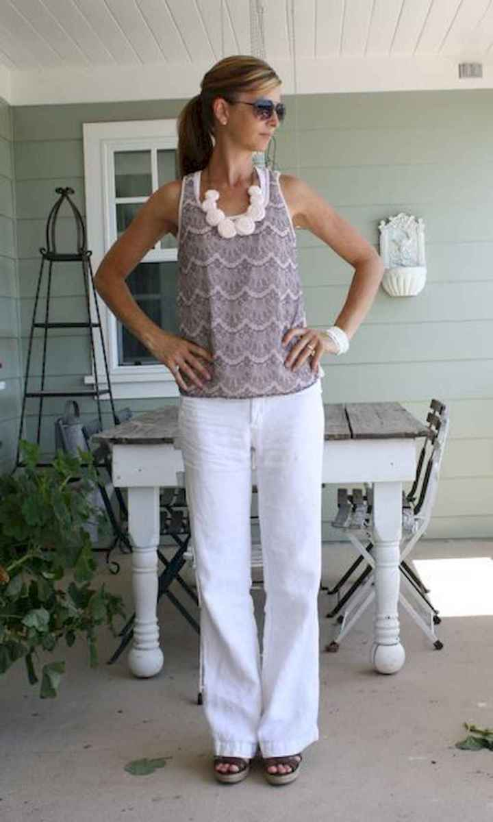 11 Summer White Linen Pants Outfit for Women