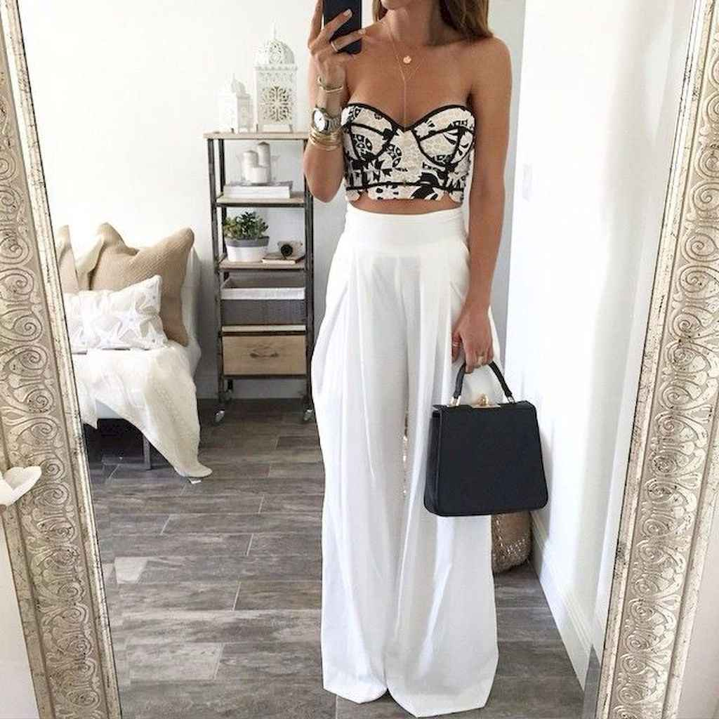 12 Summer White Linen Pants Outfit for Women
