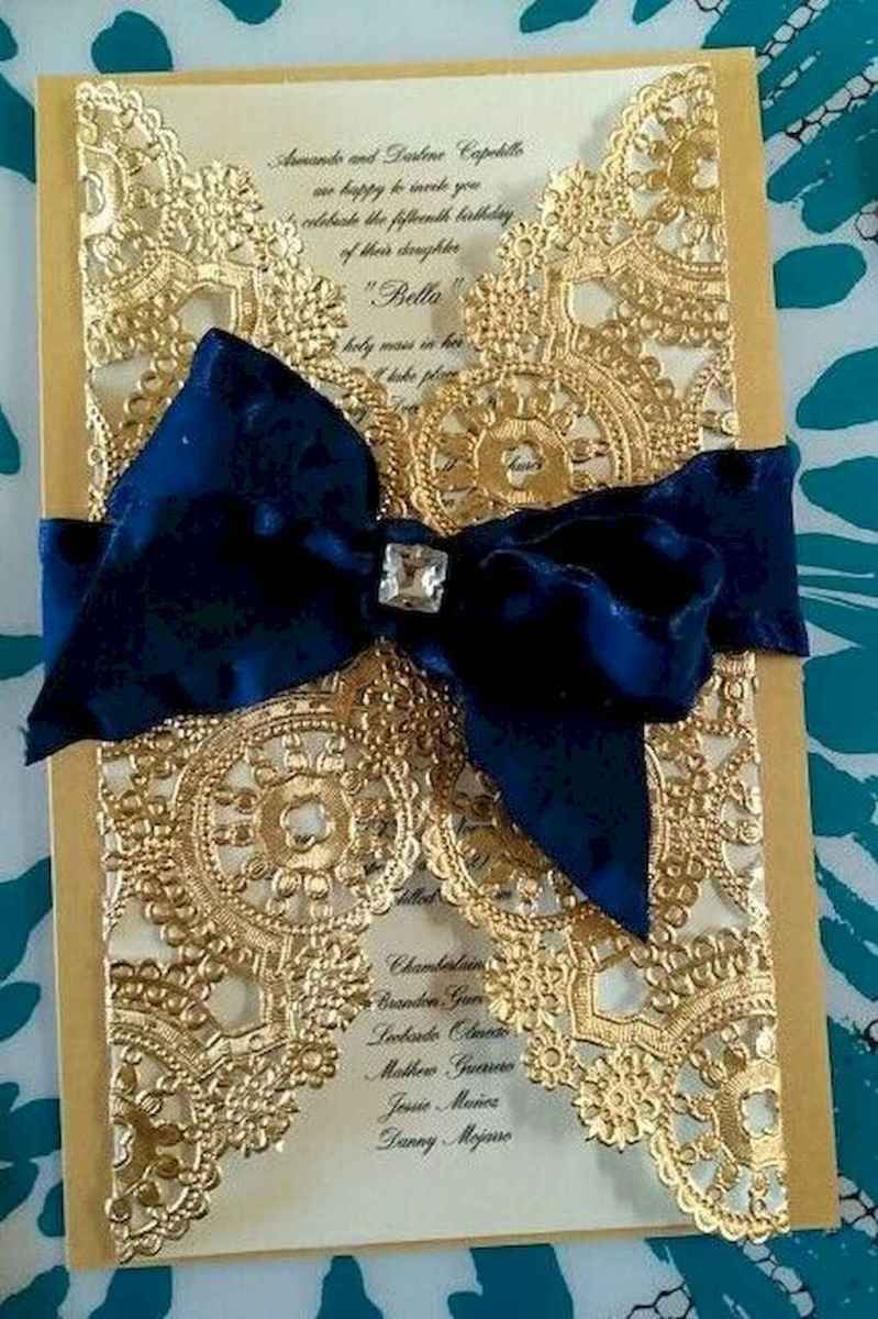 16 Elegant Christmas Wedding Invitations Ideas