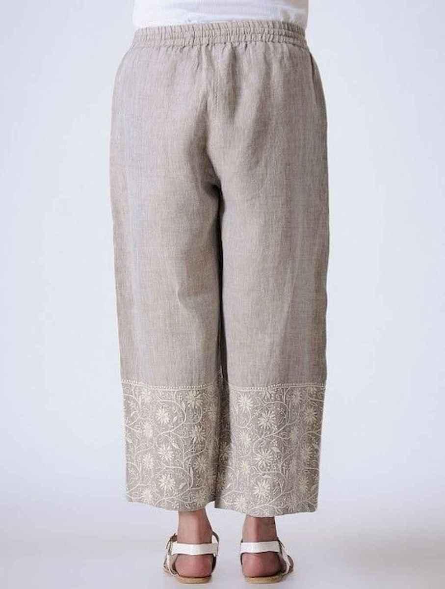 18 Elegant Beige Linen Pants Outfit Ideas