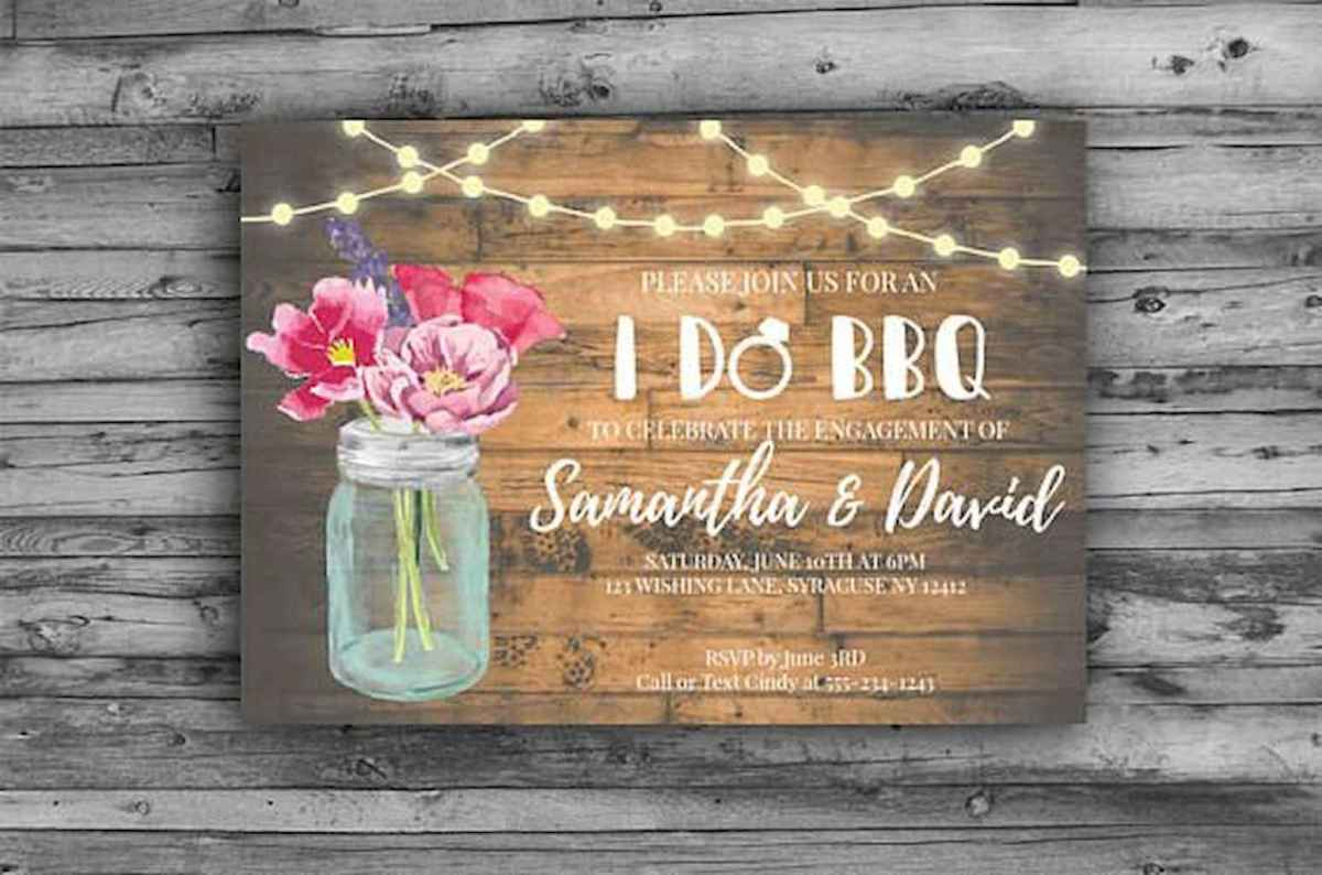 19 Inexpensive Engagement Party Invitations Ideas