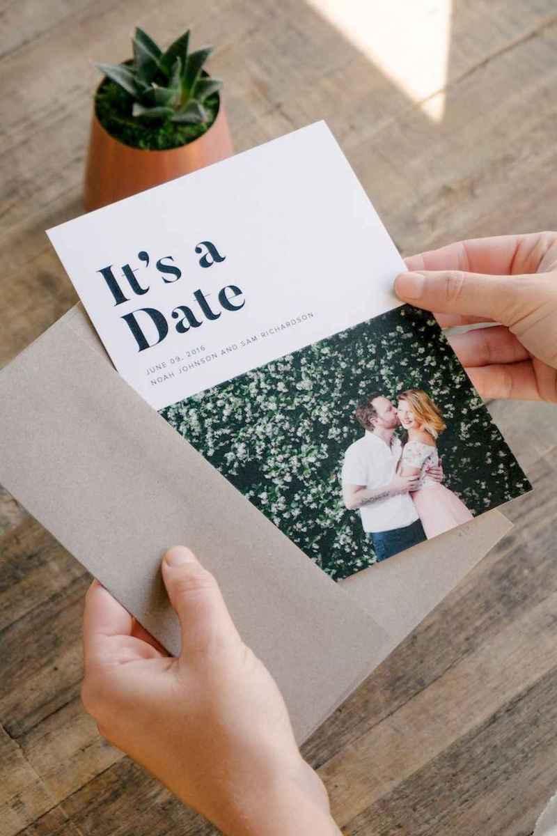 20 Simple Inexpensive Wedding Invitations Ideas