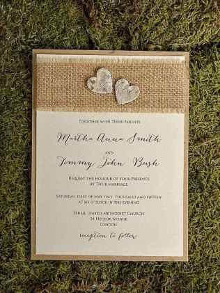 24 Simple Inexpensive Wedding Invitations Ideas