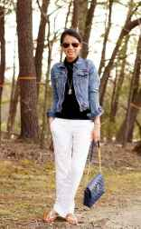24 Summer White Linen Pants Outfit for Women
