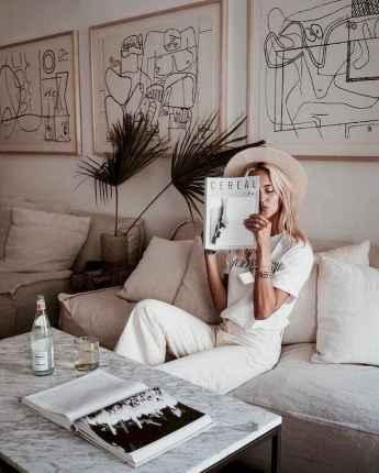 25 Elegant Beige Linen Pants Outfit Ideas