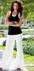 26 Summer White Linen Pants Outfit for Women