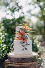 29 Romantic Tropical Wedding Ideas Reception Centerpiece