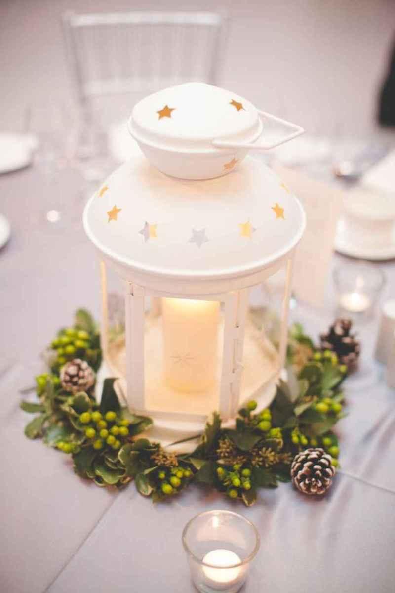 30 Beautiful Simple Winter Wedding Centerpieces Decor Ideas