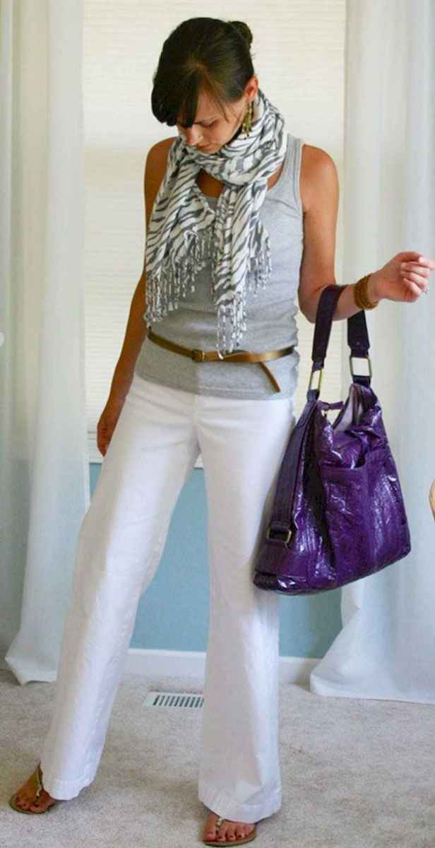 31 Summer White Linen Pants Outfit for Women