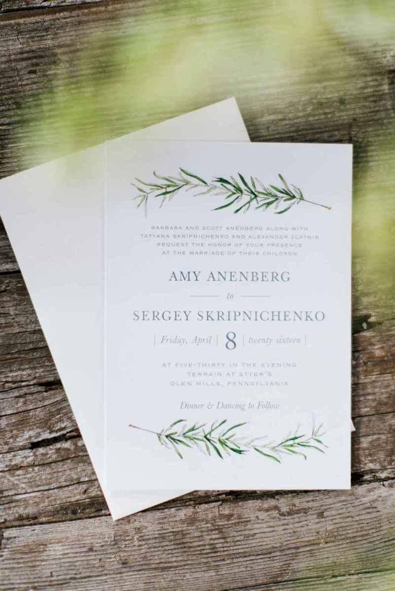 32 Simple Inexpensive Wedding Invitations Ideas