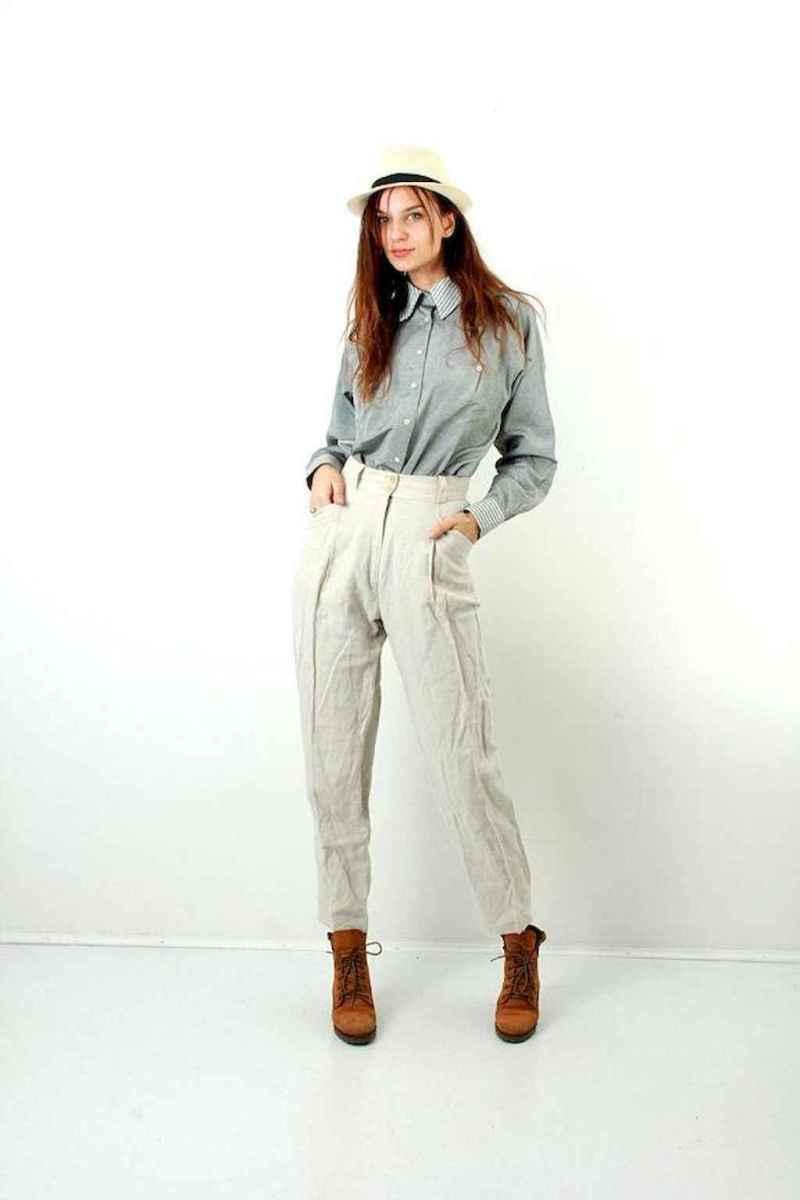 33 Elegant Beige Linen Pants Outfit Ideas