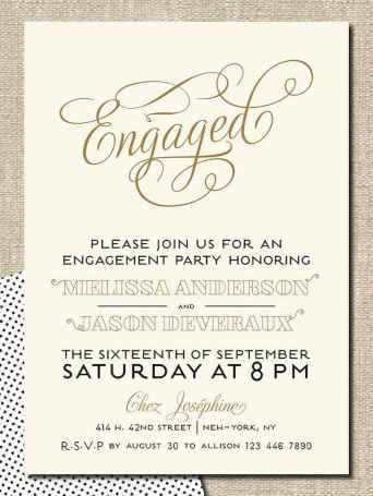 36 Inexpensive Engagement Party Invitations Ideas