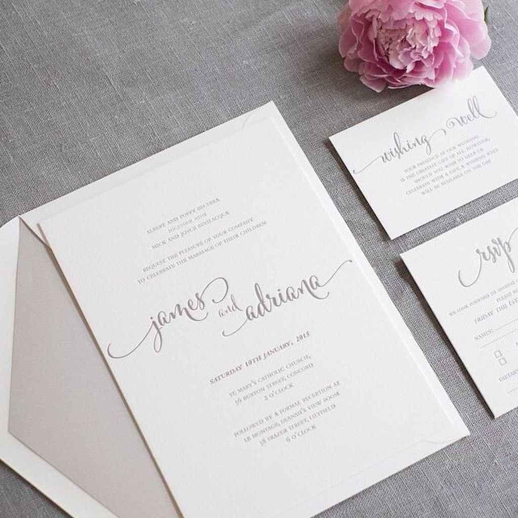 36 Simple Inexpensive Wedding Invitations Ideas