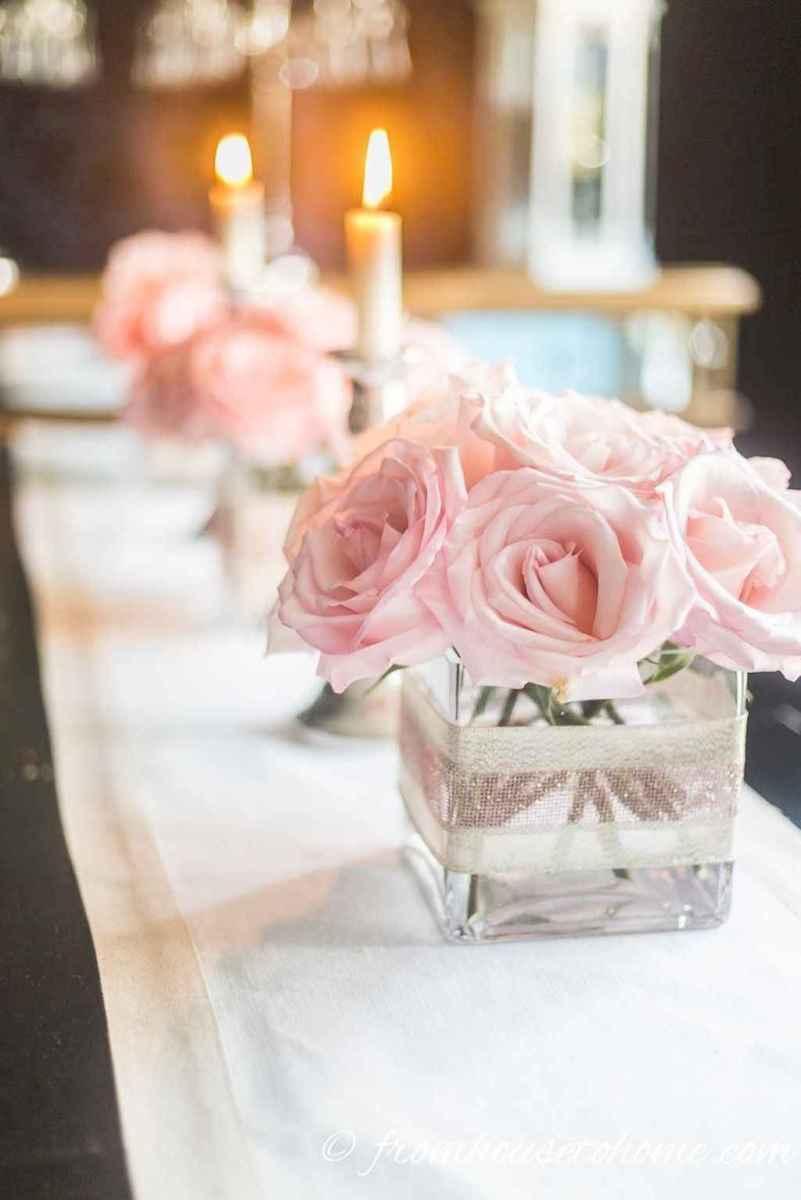 38 Simple and Easy Wedding Centerpiece Ideas