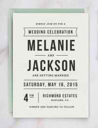 45 Simple Inexpensive Wedding Invitations Ideas