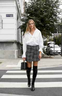 45Best Boots to Wear with Skirts