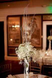 46 Beautiful Simple Winter Wedding Centerpieces Decor Ideas