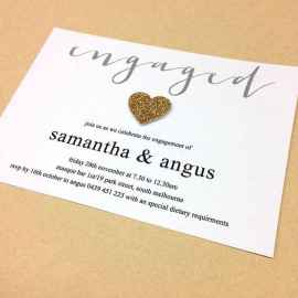 46 Inexpensive Engagement Party Invitations Ideas
