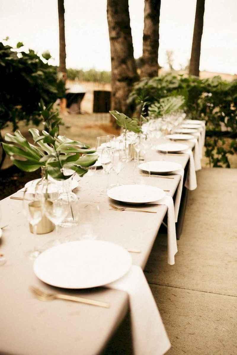 48 Romantic Tropical Wedding Ideas Reception Centerpiece