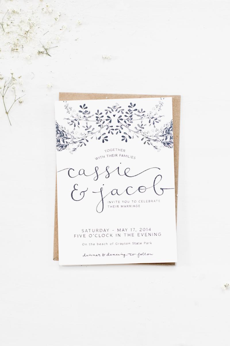 48 Simple Inexpensive Wedding Invitations Ideas