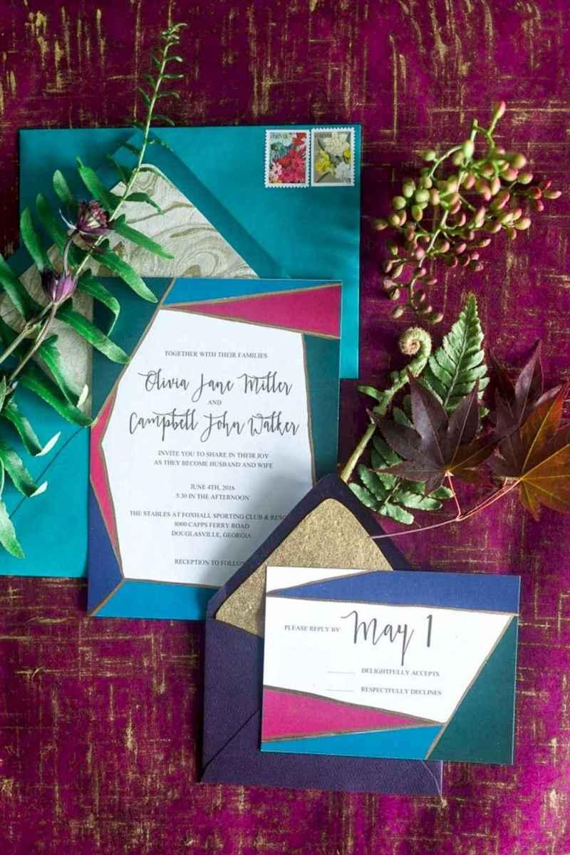 49 Elegant Christmas Wedding Invitations Ideas