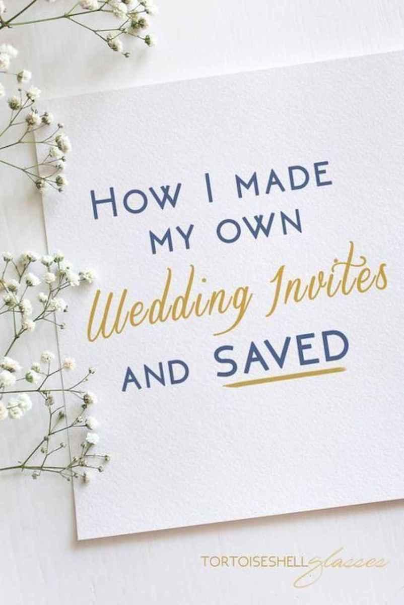 50 Simple Inexpensive Wedding Invitations Ideas