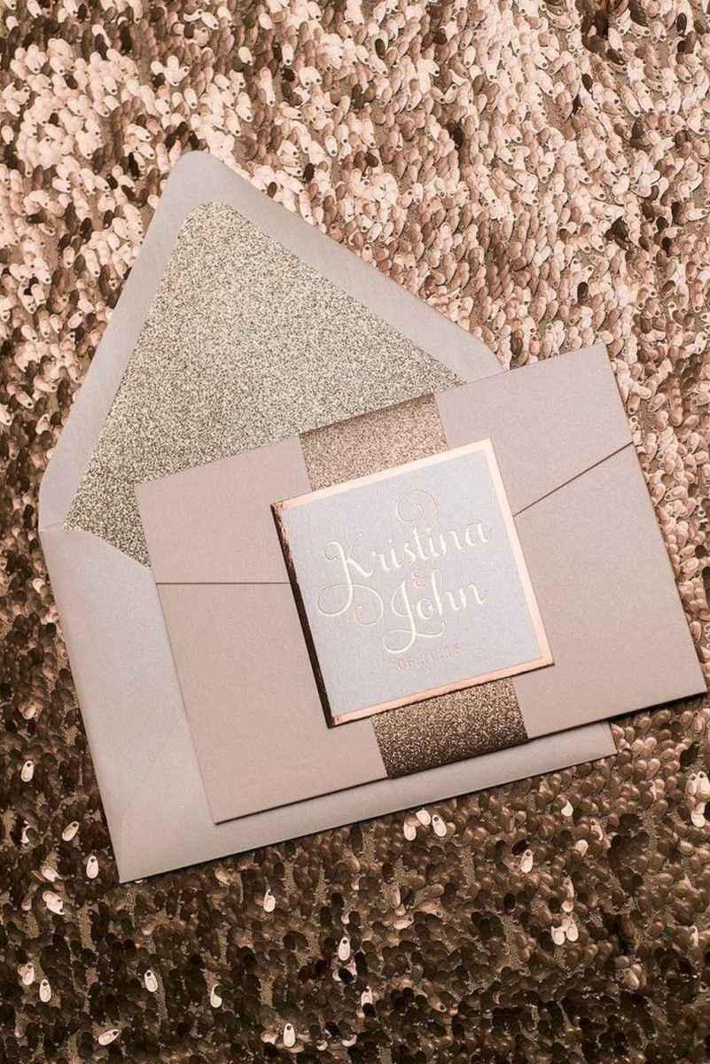 53 Elegant Christmas Wedding Invitations Ideas