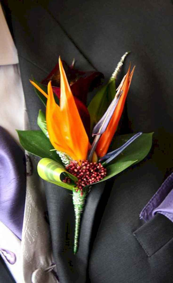 53 Romantic Tropical Wedding Ideas Reception Centerpiece