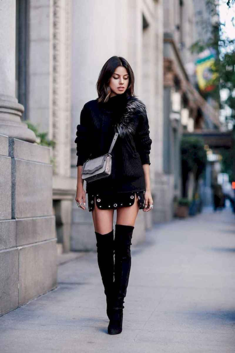 54Best Boots to Wear with Skirts