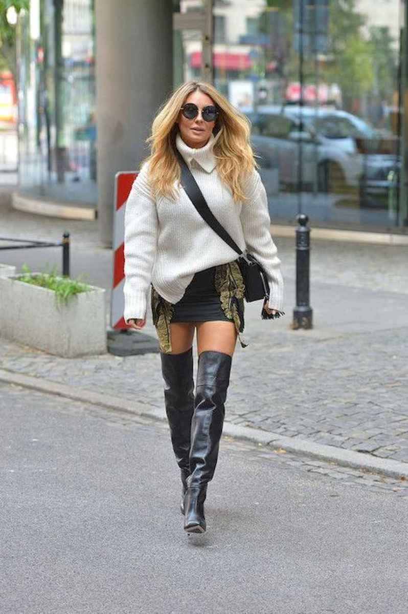 55Best Boots to Wear with Skirts