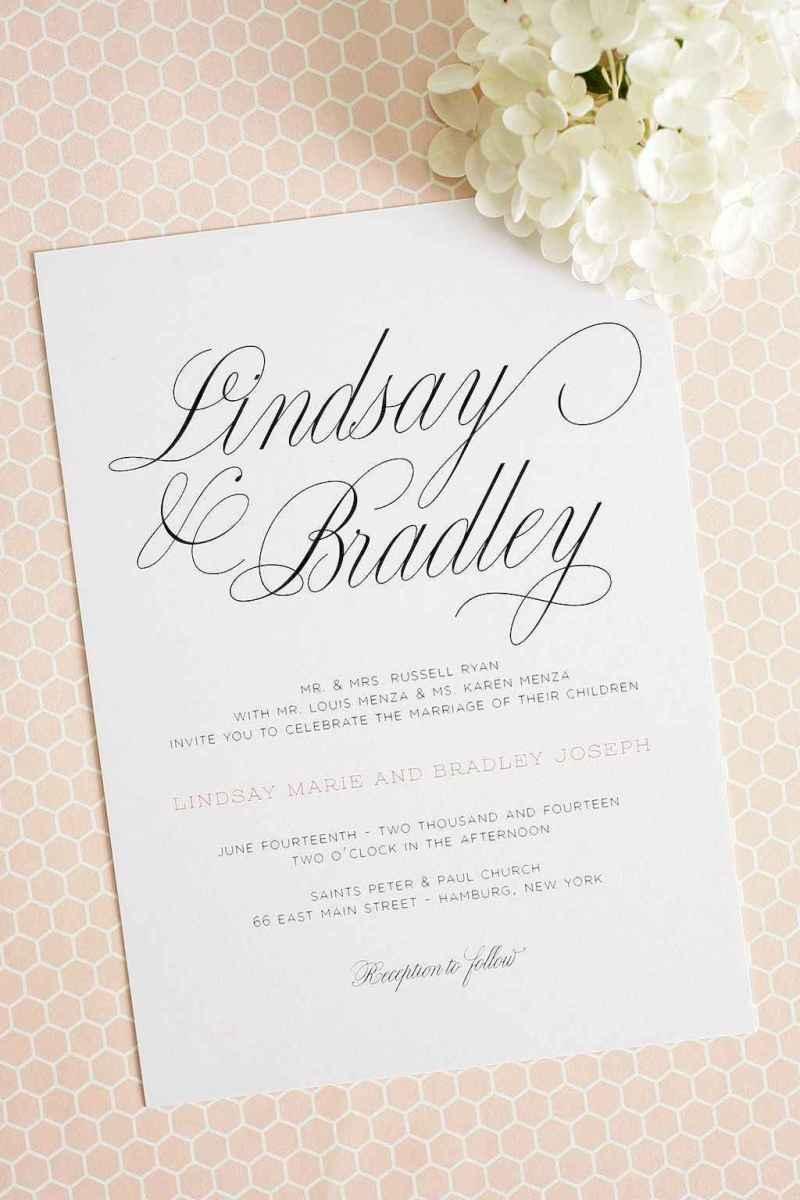 57 Simple Inexpensive Wedding Invitations Ideas