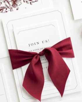 60 Elegant Christmas Wedding Invitations Ideas