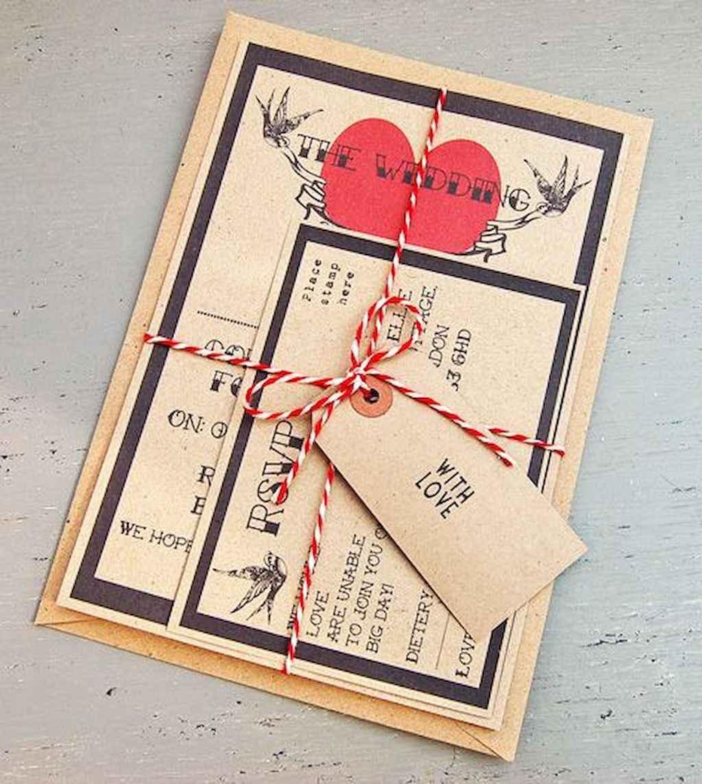 63 Elegant Christmas Wedding Invitations Ideas
