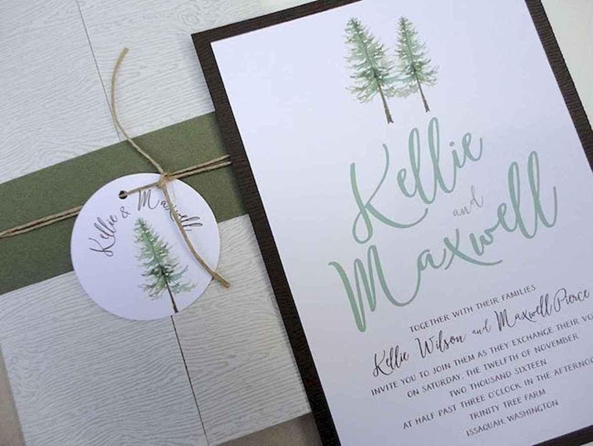 64 Elegant Christmas Wedding Invitations Ideas