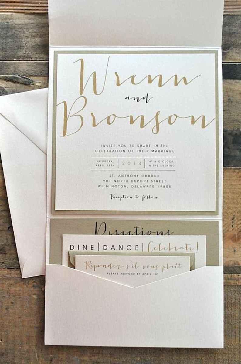 65 Simple Inexpensive Wedding Invitations Ideas