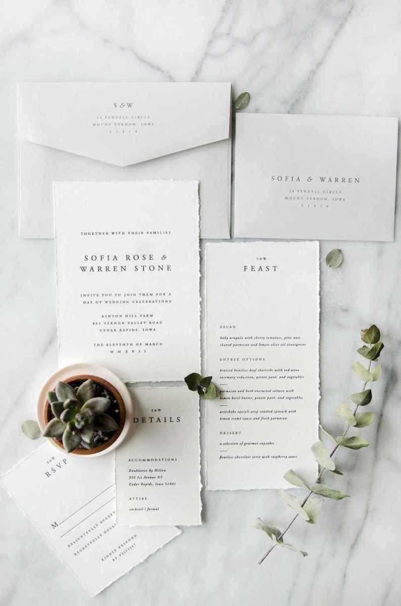 75 Simple Inexpensive Wedding Invitations Ideas