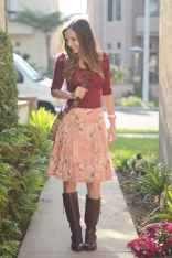 76Best Boots to Wear with Skirts