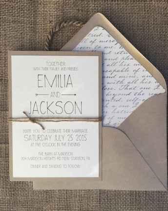 81 Simple Inexpensive Wedding Invitations Ideas