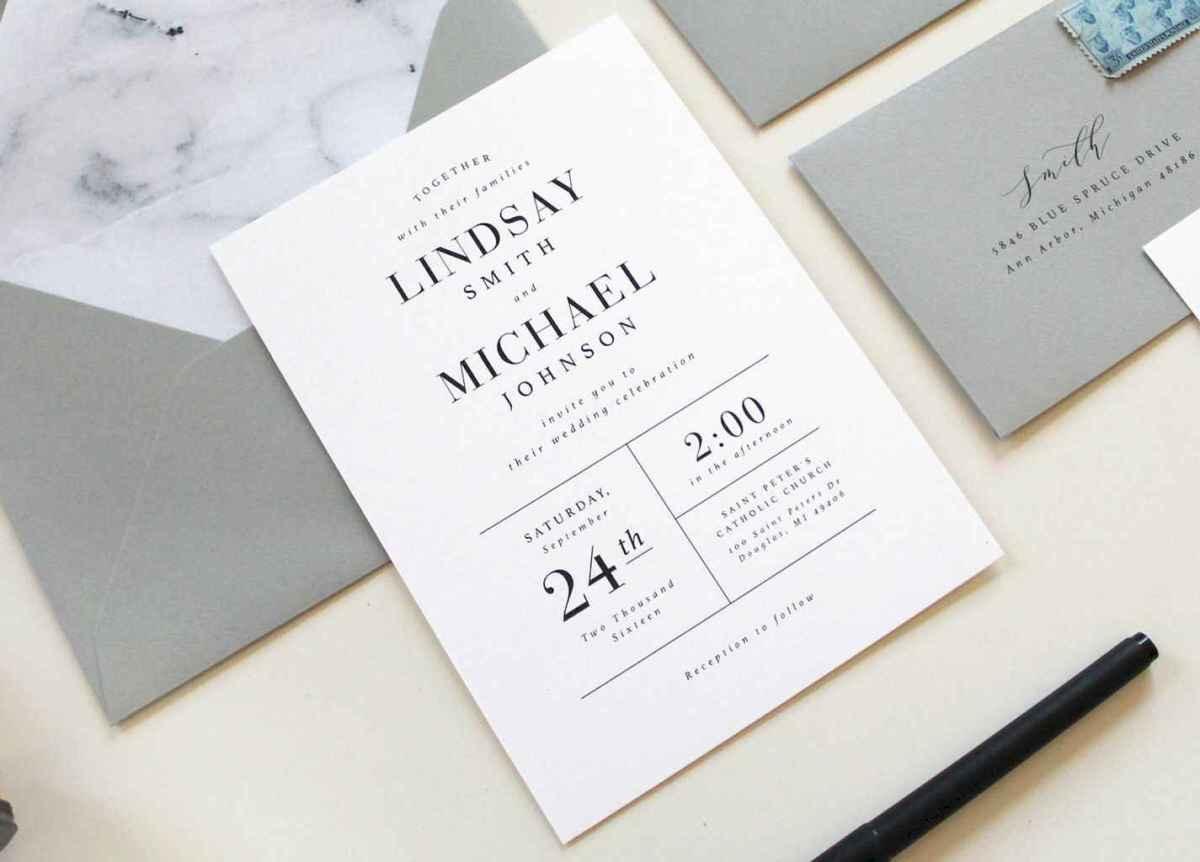 83 Simple Inexpensive Wedding Invitations Ideas