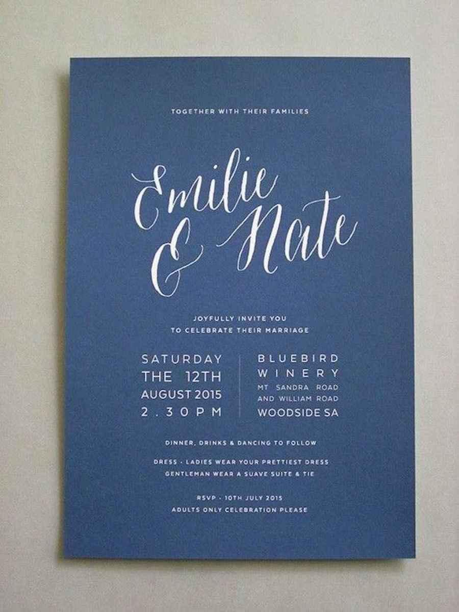 89 Simple Inexpensive Wedding Invitations Ideas