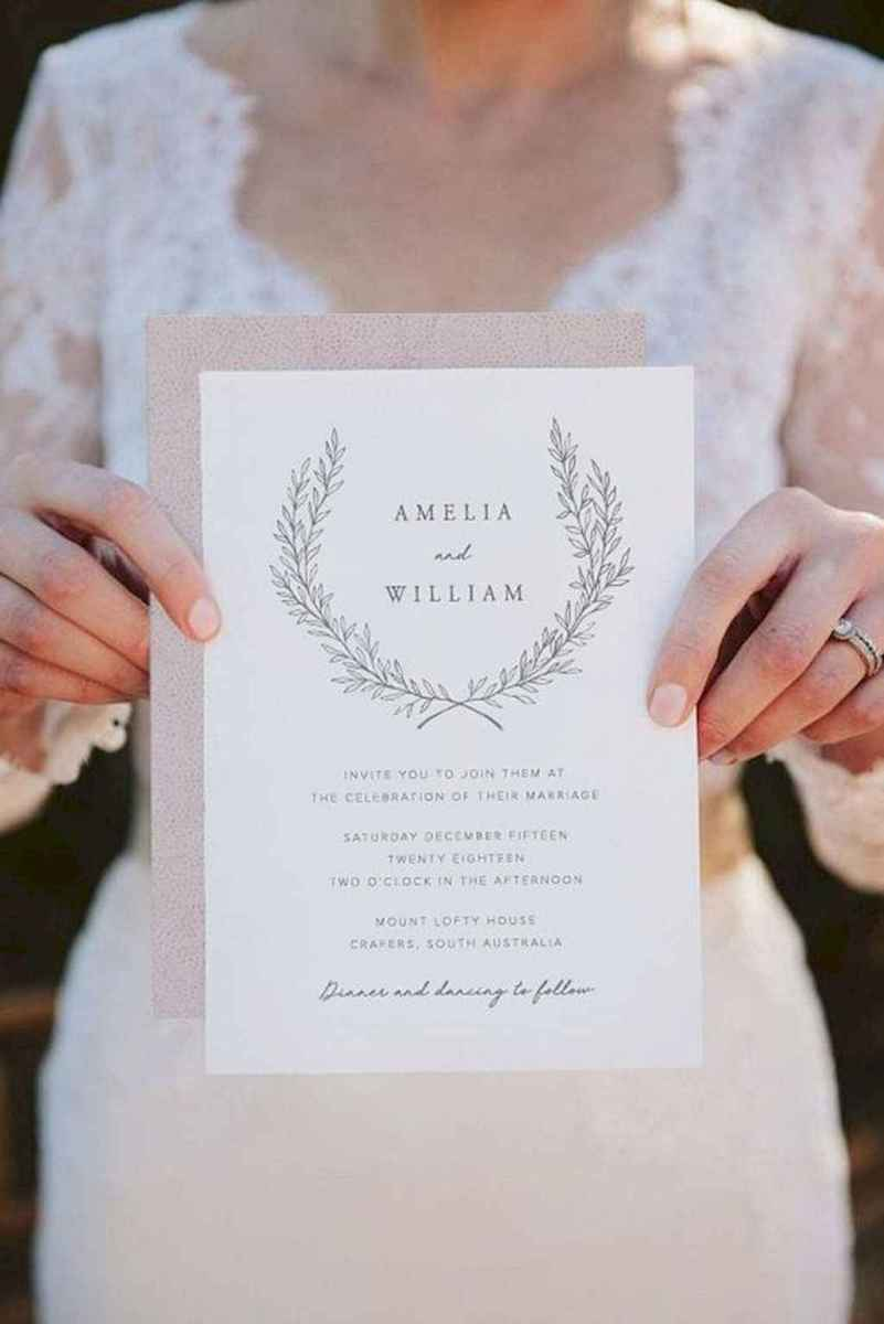 91 Simple Inexpensive Wedding Invitations Ideas