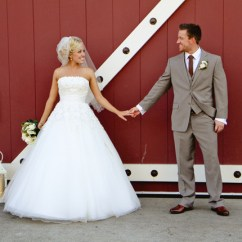 Wedding Bride And Groom Chairs Bubble Chair Stand Cheap Rustic-chic Barn - Belle The Magazine