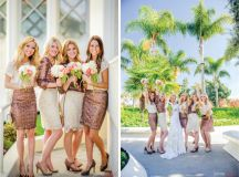 {Bridesmaids Style} : Sequins and Lace - Belle The Magazine