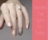 Trendy Nail Styles for Brides