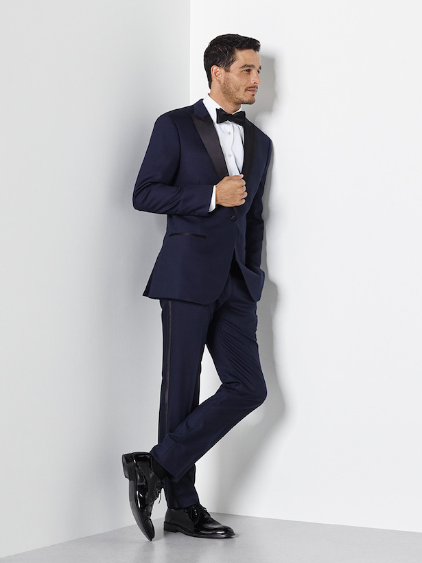 Midnight Blue Tuxedo by The Black Tux