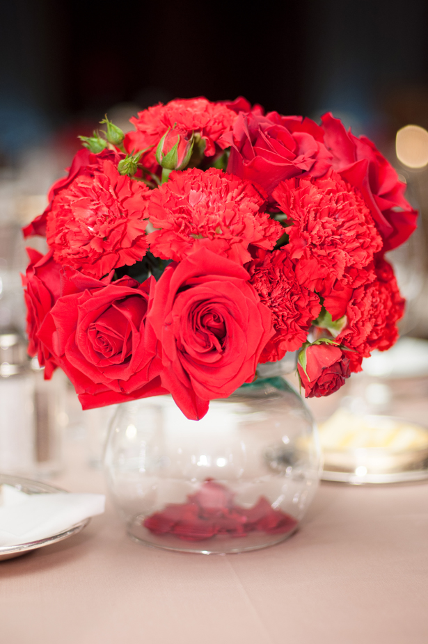 Red Centerpieces  Belle The Magazine