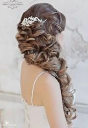 loose curls wedding hair - belle